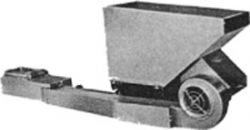 Available in feed rate sizes from 150 to 750lbs. of coal per hour, the Hopper Model Stoker features an easy to install Windbox type burner. The large capacity hopper is built with a heavy steel base and strengthened with a replaceable steel liner for long life. A single motor drives both the gear transmission and blower fan.