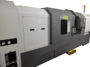 Performance of high accurate milling and turning operations in one machine! Rigid table base and column construction make realization of  positioning accuracy and heavy duty machining!