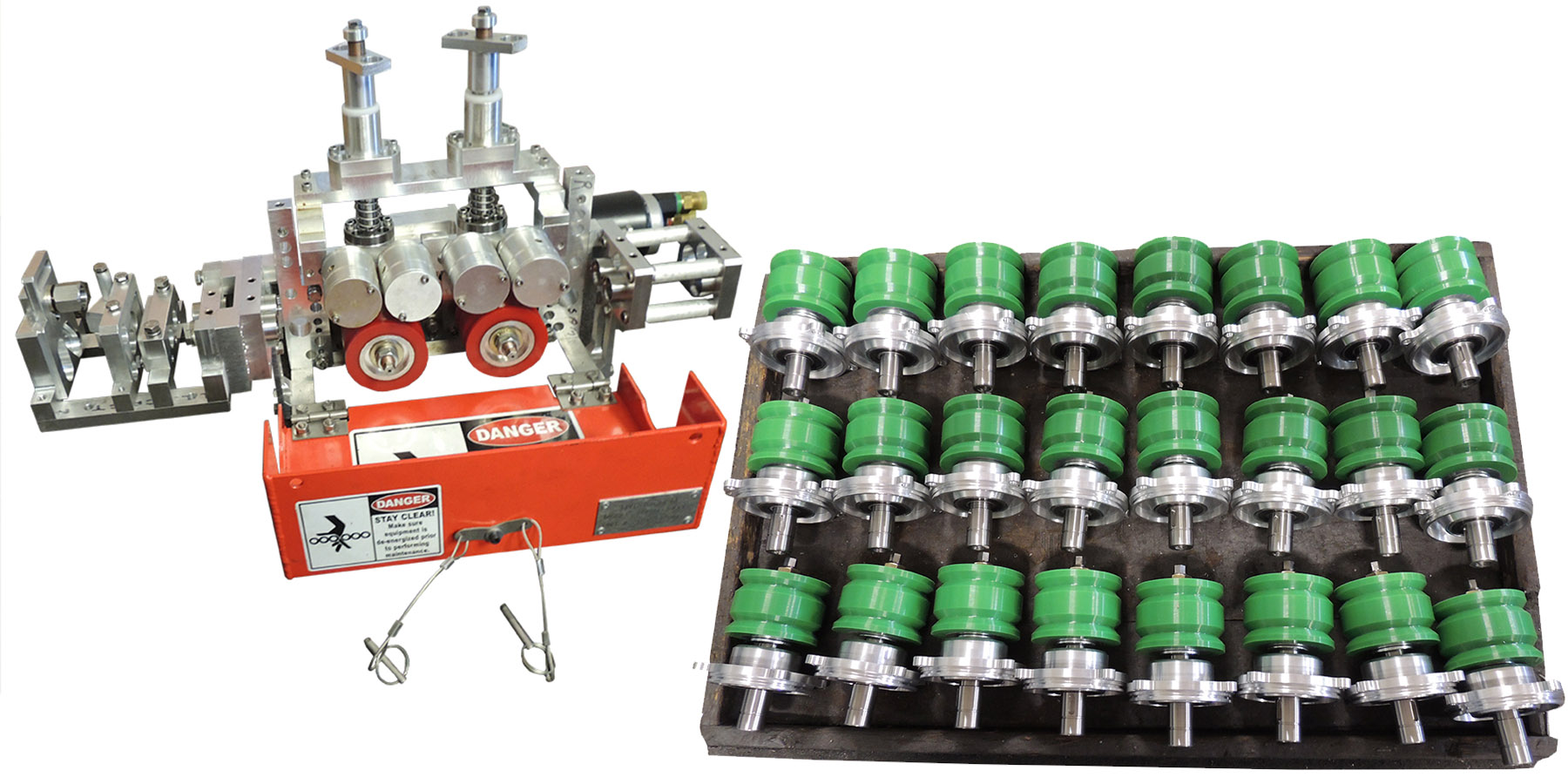 JonMar Gear and Machine produces an assortment of parts
